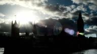 Time lapse di waterloo bridge