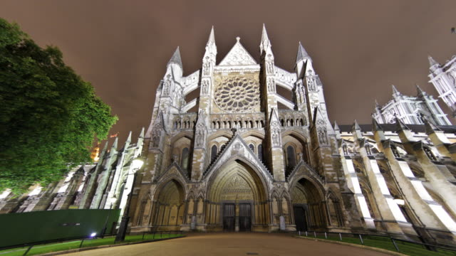 Time-lapse of Westminster Abbey in London