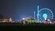 LONDON: TimeLapse of Winter Wonderland Fun Fair