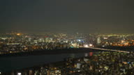 timelapse Osaka City Skyline