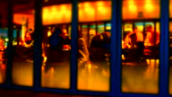 Timelapse : People in Coffee shop and Restaurant