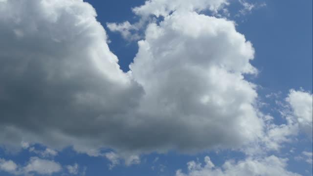 rolling Wolken Zeitraffer