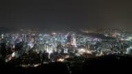 timelapse - Seoul City Skyline