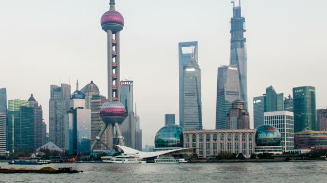 Timelapse - Shanghai skyline