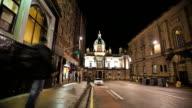 Timelapse shot from Edinburgh