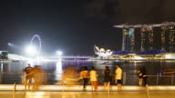 Timelapse Singapore city