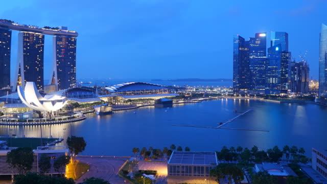 HD Timelapse - Singapore city