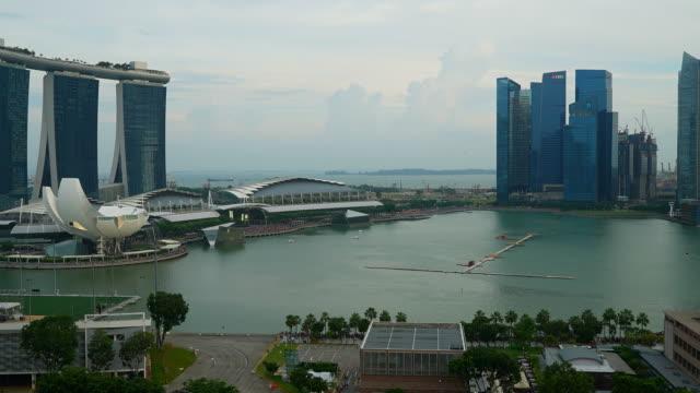 Timelapse Stadt Singapur