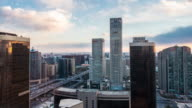Time-lapse skyline view of Beijing,China