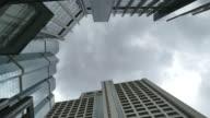 4K Timelapse - Skyscraper building