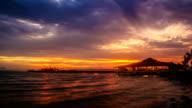 Timelapse sunset / sunrise