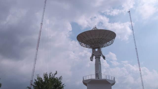 4K Time-lapse: Telecommunications Satellites