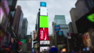 Timelapse Time Square New York City Manhattan Chromakey