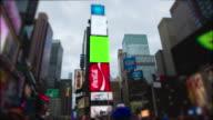 Timelapse Time Square New York City Manhattan Chromakey