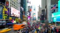 HD-Zeitraffer:  Times Square New York City