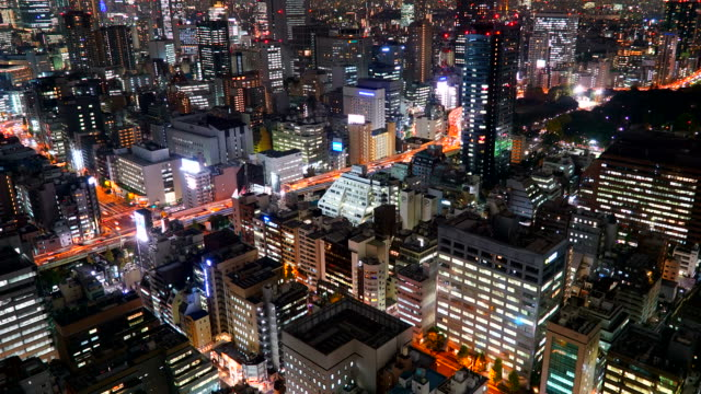 Timelapse: Tokio-Stadt in Japan