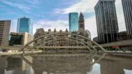 HD Time-lapse: Toronto City Hall Canada