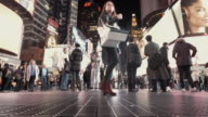4 K-Timelapse Touristen am Times Square, NYC