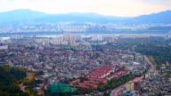 Zeitraffer: Verkehr in Seoul