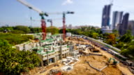 Timelapse Video Singapore Construction Site