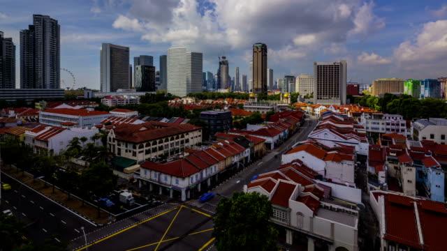 Timelapse Video Singapore Skyline