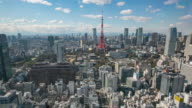 4K Timelapse view of Tokyo city
