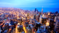 HD Time-lapse:Chicago Skyline