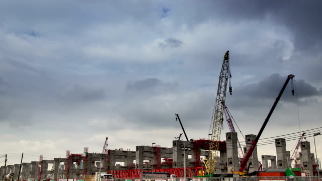 Timelapse:Construction site