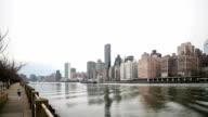 HD-Zeitraffer: East River in New york