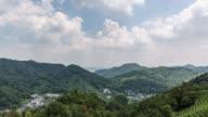 4K Time-lapse:Longjing Tea Plantation near Longjing Village,Hangzhou,China