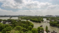 4K Time-lapse:Scenic view of the South Lake,Jiaxing,Zhejiang Province,China