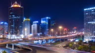 timelapse-skyline of Beijing