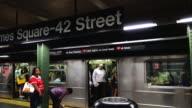 Times Square, #1,2, 3 Subway,  New York City