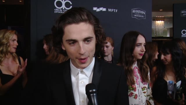 INTERVIEW Timothée Chalamet on how special is tonight as Hollywood comes together in one of the first ceremonies of the season to recognize great...