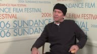 Timothy Hutton on his second movie with Amber Tamblyn coming to Sundance the first year and his relationship with Robert Redford at the 2006 Sundance...