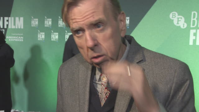 INTERVIEW Timothy Spall on Sally Potter and the films link to Brexit his character not having many lines the cast short shoot at 'The Party' UK...
