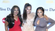 Tina Douglas and Ashanti at the PreGrammy Gala And Salute To Industry Icons Honoring Martin Bandier at The Beverly Hilton Hotel on February 07 2015...