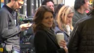 Tina Fey on the set of 30 Rock in New York