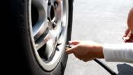 Tire air filling