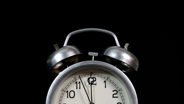 Tired Alarm Clock Rings and Falls Over | Video