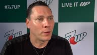 INTERVIEW Tiësto on his partnership at 7UP® Amps Up Miami Music Week With New Collaboration Ft Tiesto and Martin Garrix at W Hotel on March 26 2015...