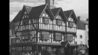 'The city on the Wye Hereford' / VS Hereford Cathedral / VS quaint narrow street / VS Old House with halftimbered wattle and daub construction / VS...