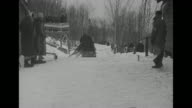 'US Wins Sled Title Lake PlacidFinal event of winter Olympics goes to American team Billy Fiske pilots No 1 US sled to victory' / 1932 Winter...