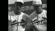 'World Series Thrills St Louis highlights of baseball's grand climax as Cardinals and Connie Mack's Athletics clash for 1930 championship' / MS...