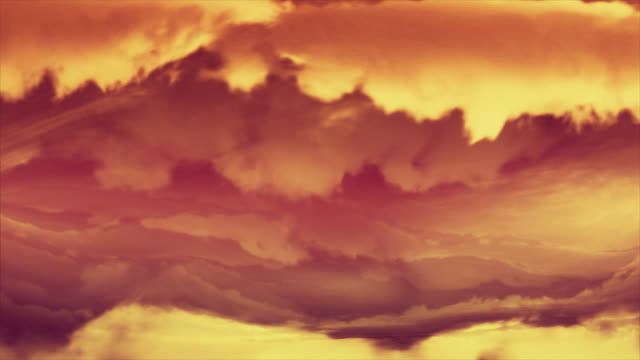 Titles. Electric tornado animated background. Sunset coloured. Loop.