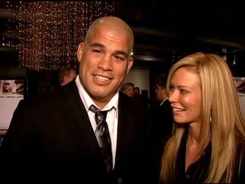 Tito Ortiz and Jenna Jameson on the event Jenna's reality show and Tito's upcoming competitions at the 'Sleepwalking' Screening at Directors Guild of...