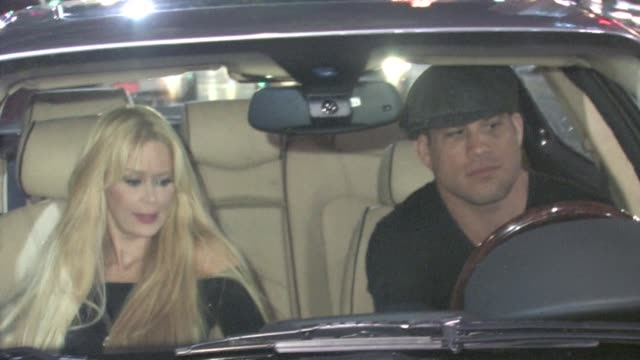 Tito Ortiz Jenna Jameson at Katsuya in Hollywood at the Celebrity Sightings in Los Angeles at Los Angeles CA