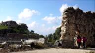 Tlos ancient city from Fethiye. Mugla / Turkey.