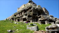 Tlos ancient city from Fethiye / Turkey.