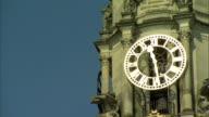 PAN to WS City Hall clock tower Villa Cardiff UK